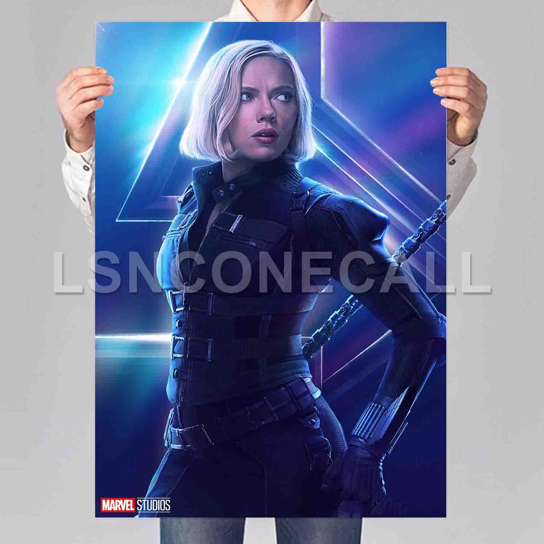Art 2019 Avengers 4 Endgame Movie New Marvel Poster 24x36 32x48 P-349
