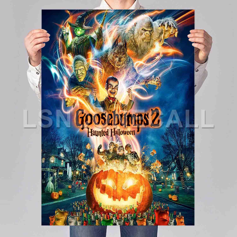 Goosebumps 2 Haunted Halloween Poster Print Art Wall Decor