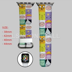 Adventure Time Jake Finn and Friends Apple Watch Band