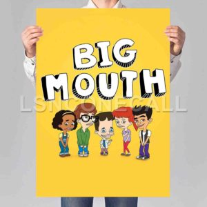Big Mouth Poster Print Art Wall Decor