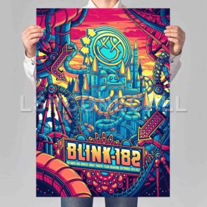 Blink 182 Poster Print Art Wall Decor