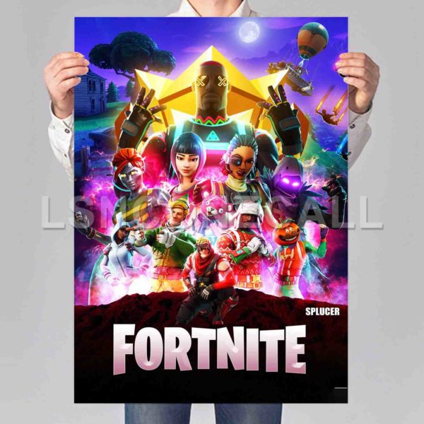 Infinity War Fortnite Infinity War Fortnite Poster Print Art Wall Decor