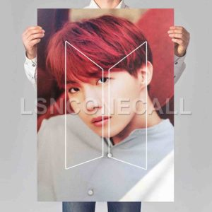 J-Hope BTS Poster Print Art Wall Decor