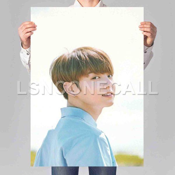Jungkook BTS Poster Print Art Wall Decor
