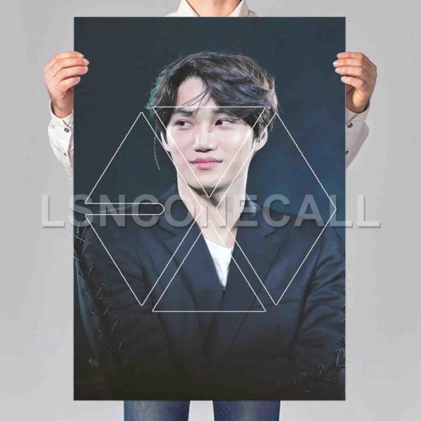 Kai EXO Poster Print Art Wall Decor