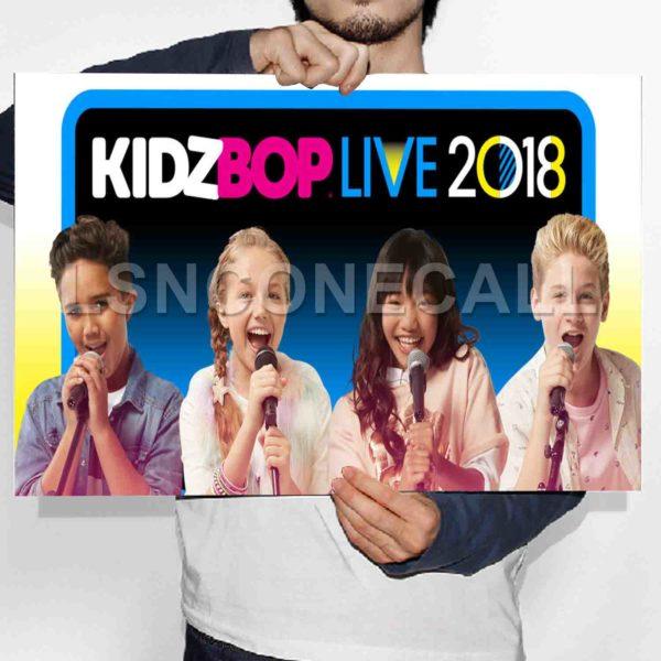 Kidz Bop Live 2018 Poster Print Art Wall Decor