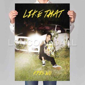 Kris Wu Like That Poster Print Art Wall Decor