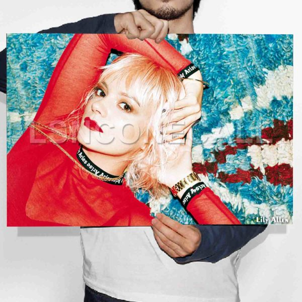 Lily Allen Poster Print Art Wall Decor