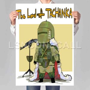 Lord Tachanka Poster Print Art Wall Decor