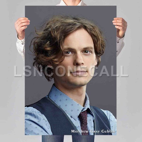 Matthew Gray Gubler Poster Print Art Wall Decor