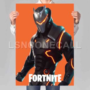 Omega Fortnite Poster Print Art Wall Decor