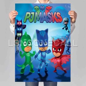 PJ Masks Poster Print Art Wall Decor