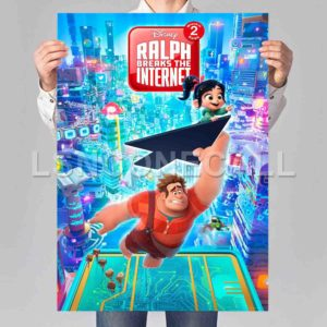Ralph Breaks the Internet Wreck-It Ralph Poster Print Art Wall Decor