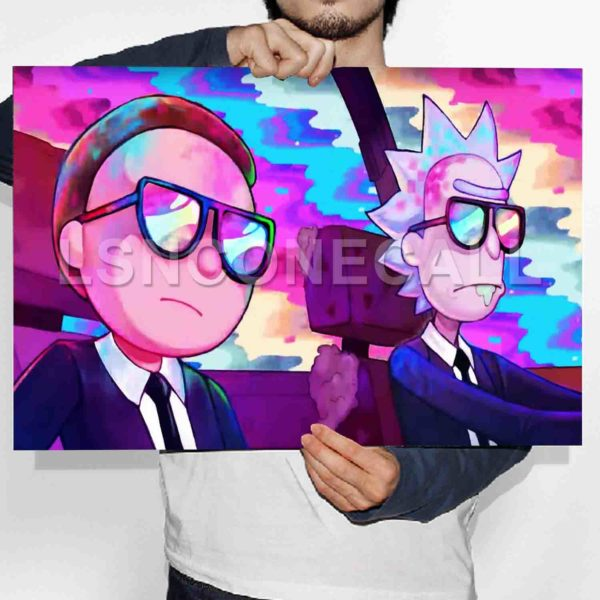 Rick and Morty Poster Print Art Wall Decor