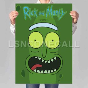 Rick and Morty Poster Print Art Wall Decor