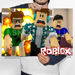 Roblox Poster Print Art Wall Decor