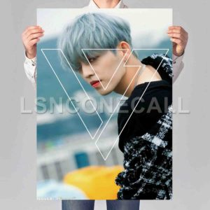 S Coups Seventeen Poster Print Art Wall Decor
