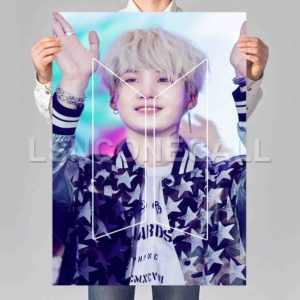 SUGA BTS Print Art Wall Decor