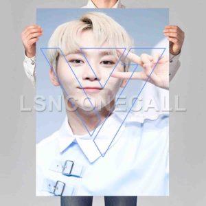 Seung Kwan Seventeen Poster Print Art Wall Decor
