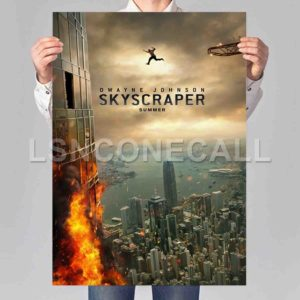 Skyscraper Poster Print Art Wall Decor