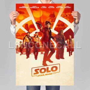 Solo A Star Wars Story Poster Print Art Wall Decor