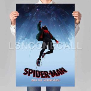 Spider-Man Into the Spider-Verse Poster Print Art Wall Decor