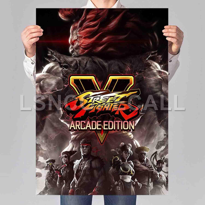 Street Fighter V Arcade Edition Poster Print Art Wall Decor