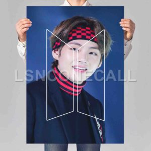 V BTS Poster Print Art Wall Decor