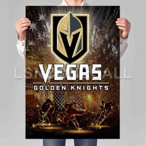 Vegas Golden Knights Poster Print Art Wall Decor