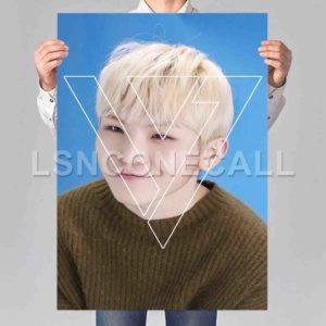 Woozi Seventeen Poster Print Art Wall Decor