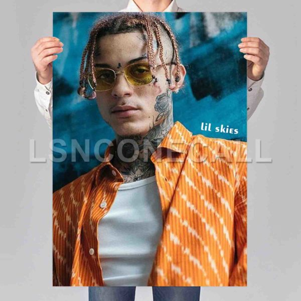 lil skies Poster Print Art Wall Decor