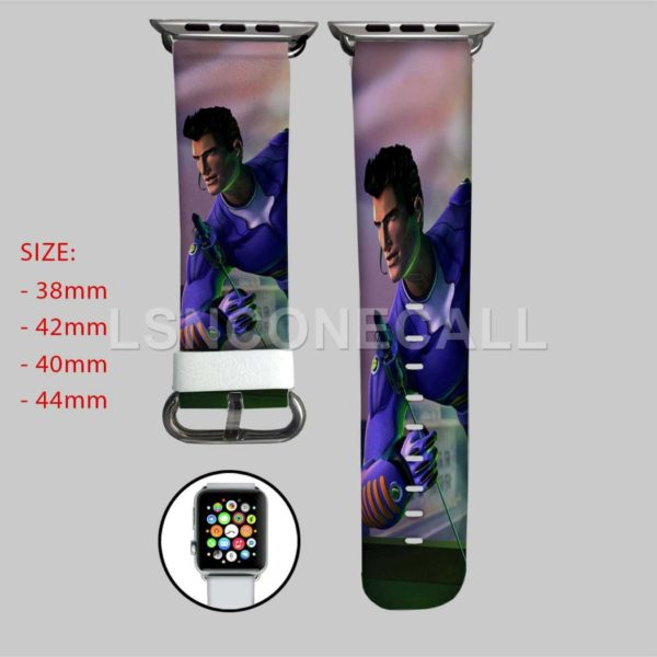 Action Man TV Series Adventure Time Jake and Finn Swords Adventure Time Jake Finn and Friends Apple Watch Band