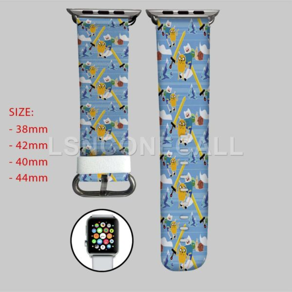 Adventure Time Jake and Finn Swords Adventure Time Jake Finn and Friends Apple Watch Band