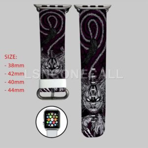 Alice In Wonderland Cat Cheshire Apple Watch Band
