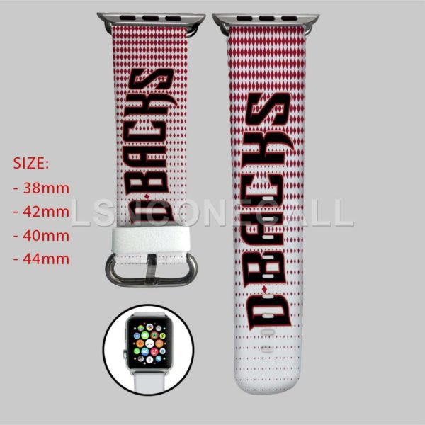 Arizona Diamondbacks MLB Apple Watch Band