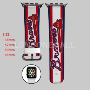 Atlanta Braves MLB Apple Watch Band