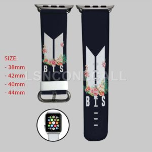 BTS Flowers Apple Watch Band