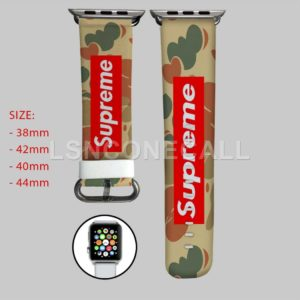 Bape Supreme Apple Watch Band