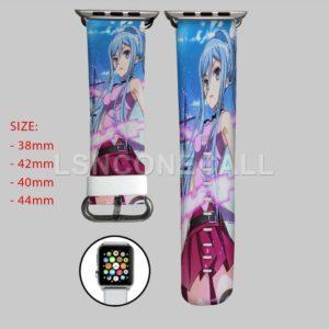 Blue Steel Takao Arpeggio Apple Watch Band