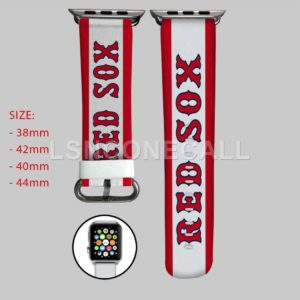Boston Red Sox MLB Apple Watch Band