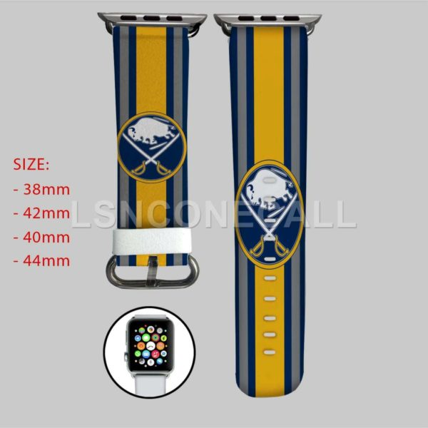 Buffalo Sabres NHL Apple Watch Band