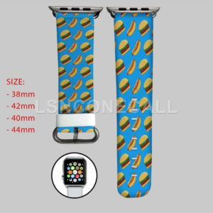 Burgers Collage Apple Watch Band