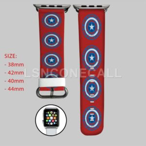 Captain America Iron Man Civil War Apple Watch Band
