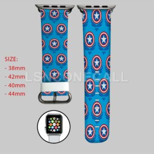 Captain America Shield The Avengers Apple Watch Band