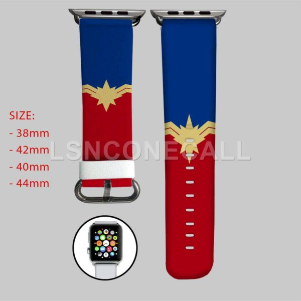 Captain Marvel The Avengers Apple Watch Band