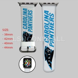 Carolina Panthers Apple Watch Band