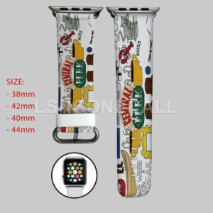Central Perk Friends Apple Watch Band