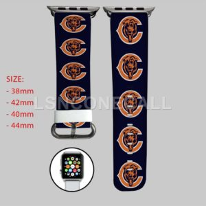 Chicago Bears Apple Watch Band