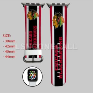 Chicago Blackhawks NHL Apple Watch Band