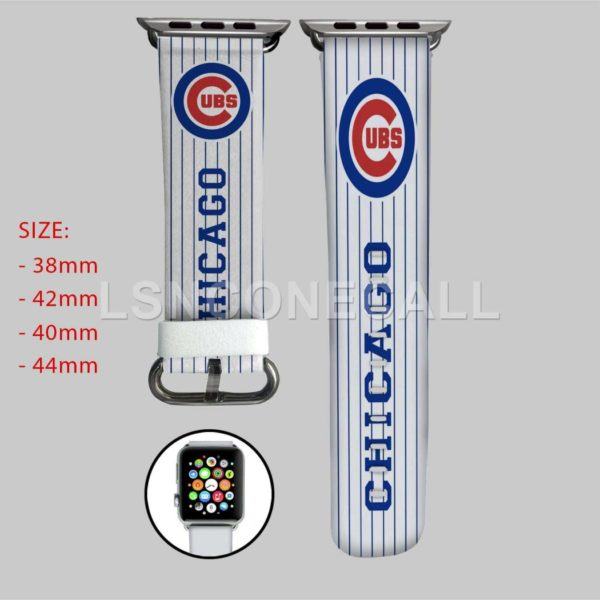 Chicago Cubs MLB Apple Watch Band